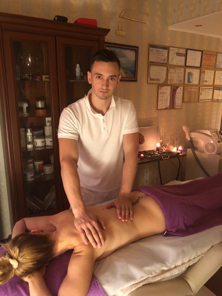 массаж теля в салоне красоты